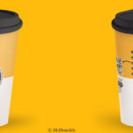 Loop returnable cups at McDonalds