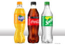 Recycled PET bottles at Coca-Cola