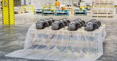 Skoda packages car parts in degradable film