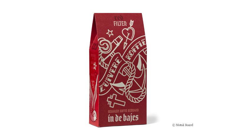 Distinctive coffee packaging
