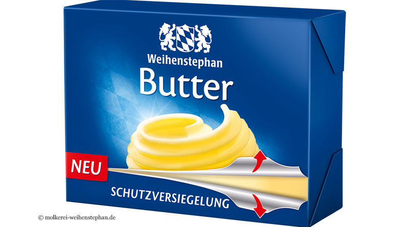 Neue Butterverpackung