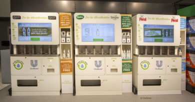 Nachfüllstationen von Unilever