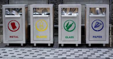 Urban trash recycling