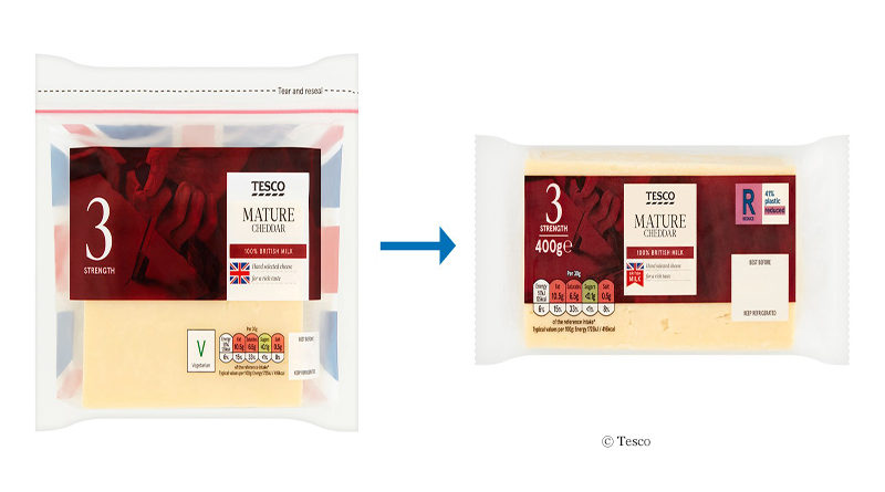 New cheese packaging