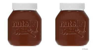 Nutella in reusable jar