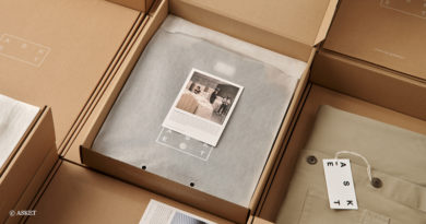 Paper packaging for fashion
