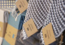 Papierbänder beim Dänischen Bettenlager