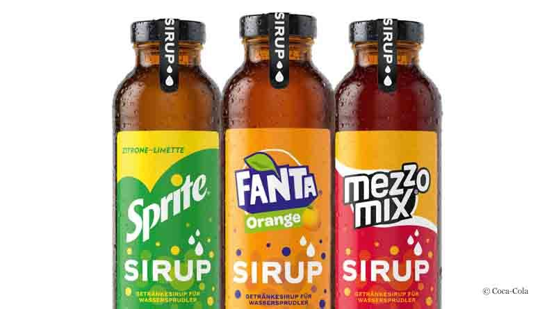 Beverage syrups from Coca-Cola