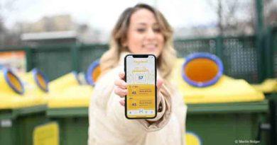 RecycleMich-App in Österreich