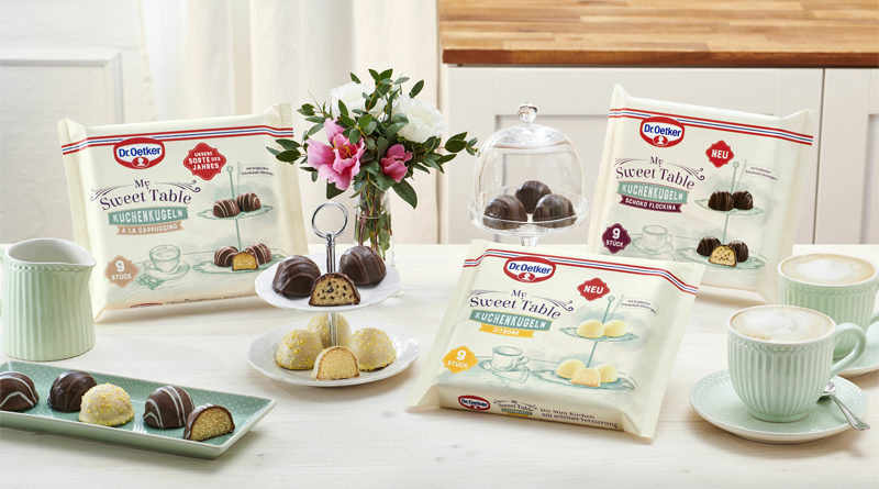 Dr. Oetker sustainable Packaging