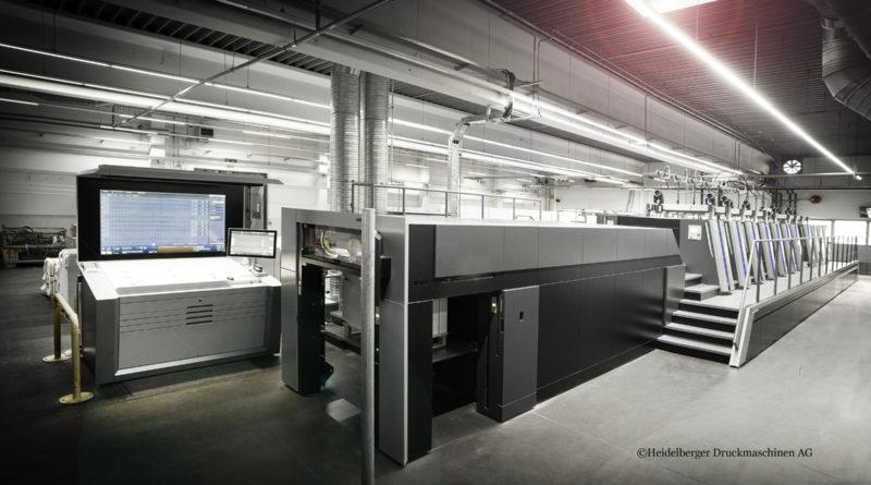 Printing Press Heidelberger Druckmaschinen AG