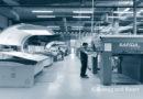 Verpackungsdruck Maschine Rapida von Koenig und Bauer