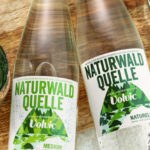 Volvic water in returnable glass bottles
