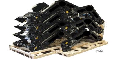 Holz - Transportpalette für Traktor Frontlader Schwingen ist einer der dvi-Preisträger