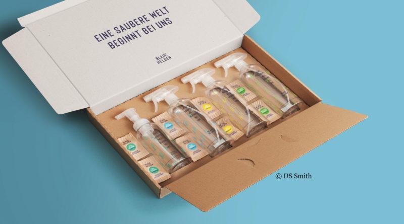 Reinigungsmittel zum Selbermischen in der Versandverpackung