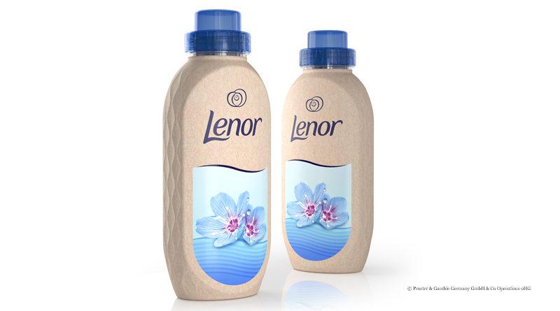 Papierflaschen für Lenor
