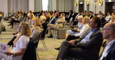 Teilnehmende beim Packaging 360 Kongress in Frankfurt
