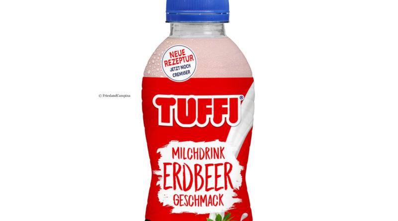Tuffi Milchdrink in neuer Verpackung